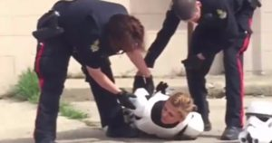 Stormtrooper Cosplayer with Toy Blaster Gets Taken Down by Cops on Star Wars Day